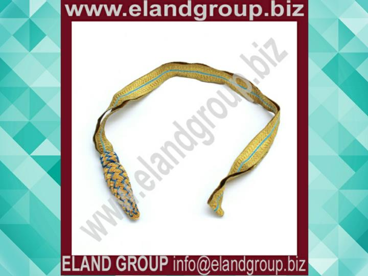Sword knot royal air force gold sky blue