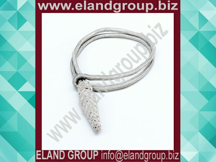 Uniform silver bullion sword knot