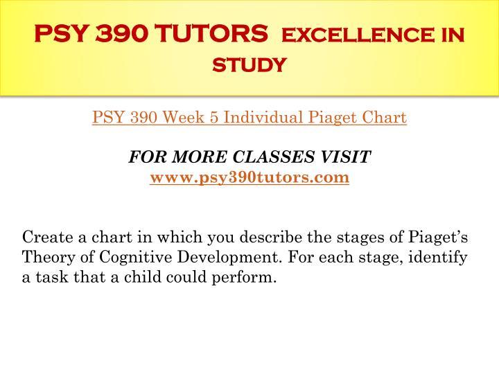 PSY 390 TUTORS