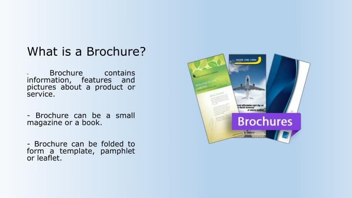 What is a Brochure?