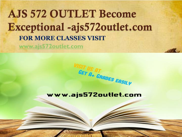AJS 572 OUTLET Become Exceptional