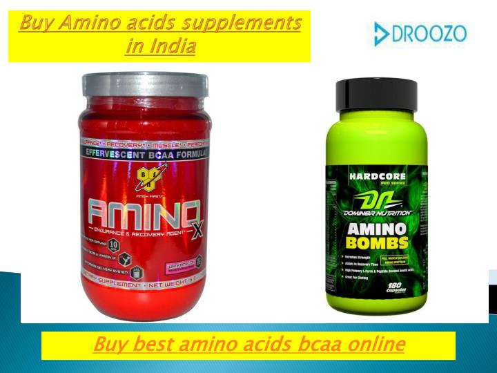 Buy Amino acids supplements in India