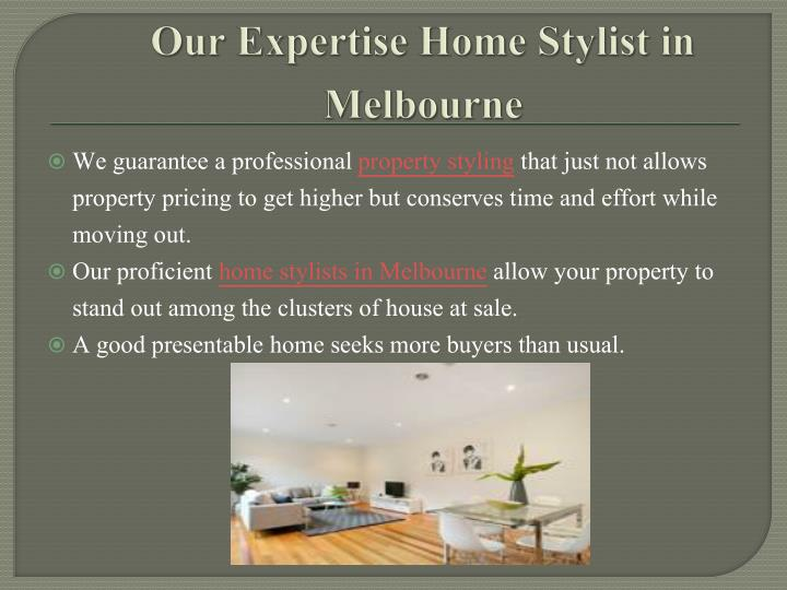Our Expertise Home Stylist