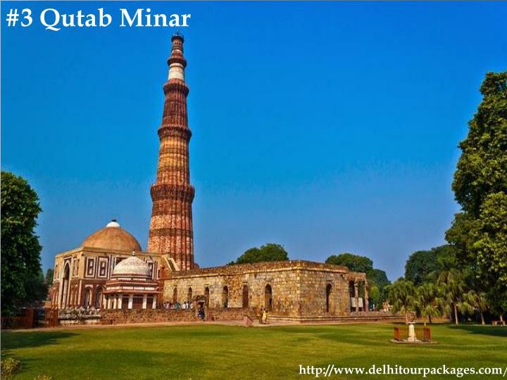 #3 Qutab Minar