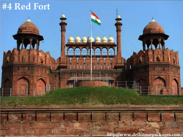 #4 Red Fort