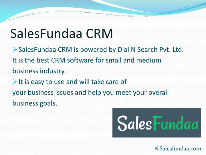 SalesFundaa CRM