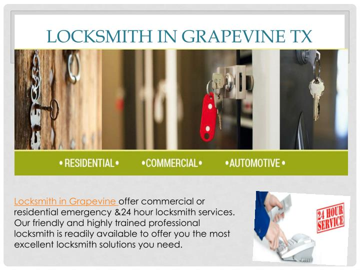 Locksmith in