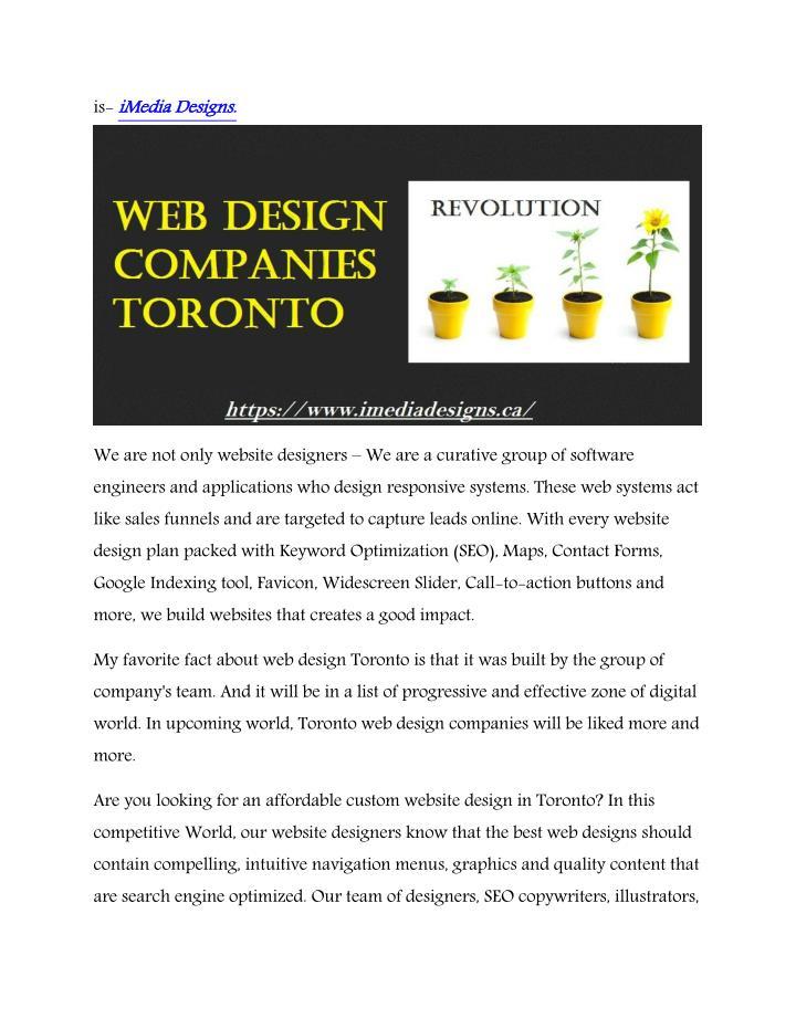 iMedia Designs.