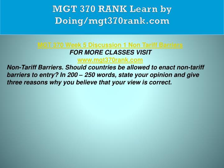 MGT 370 RANK Learn by Doing/mgt370rank.com