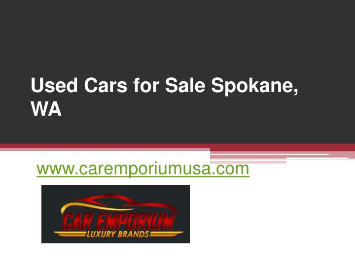 Used cars for sale spokane wa