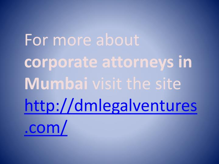 For more about