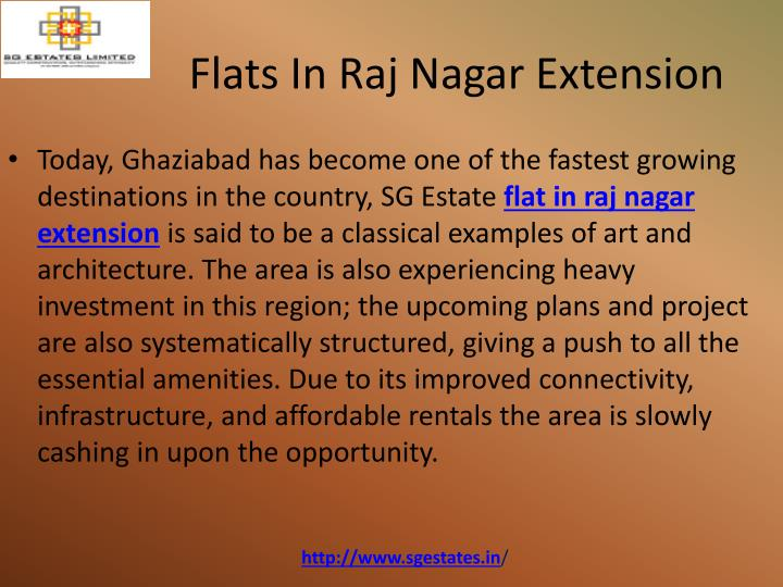 Flats In Raj Nagar Extension