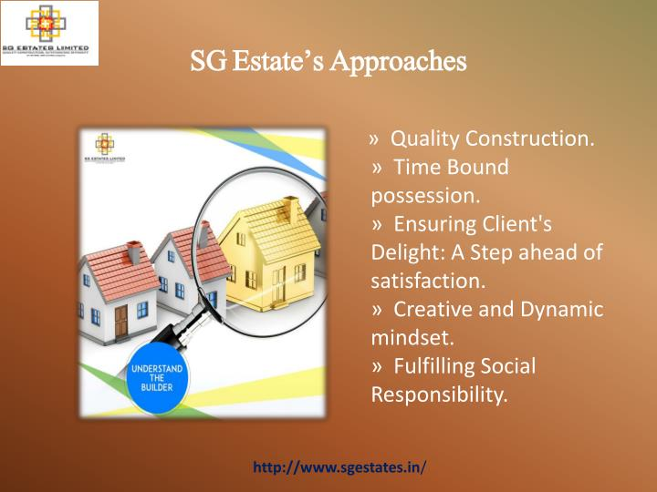 Sg estate s approaches