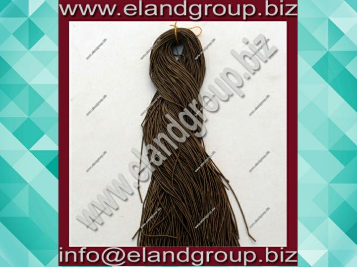 Dark antique brown smooth purl