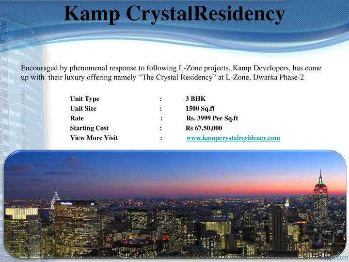 Kamp CrystalResidency