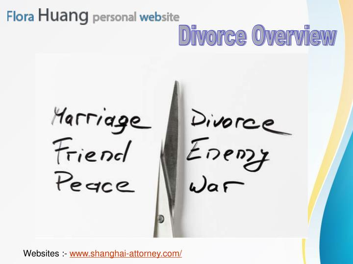 Divorce Overview