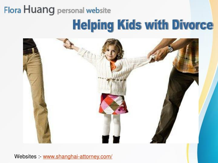 Helping Kids with Divorce