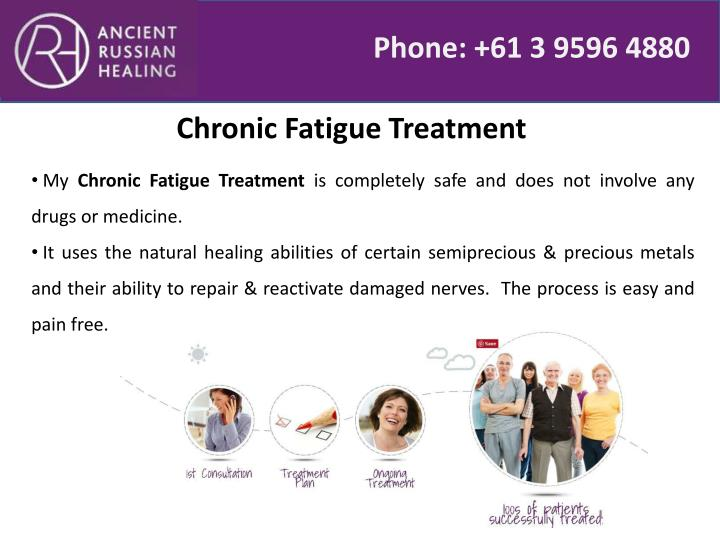 Chronic Fatigue Treatment