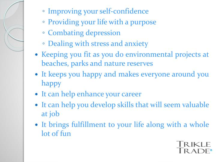 Improving your self-confidence