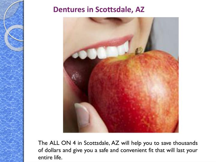 Dentures in Scottsdale, AZ