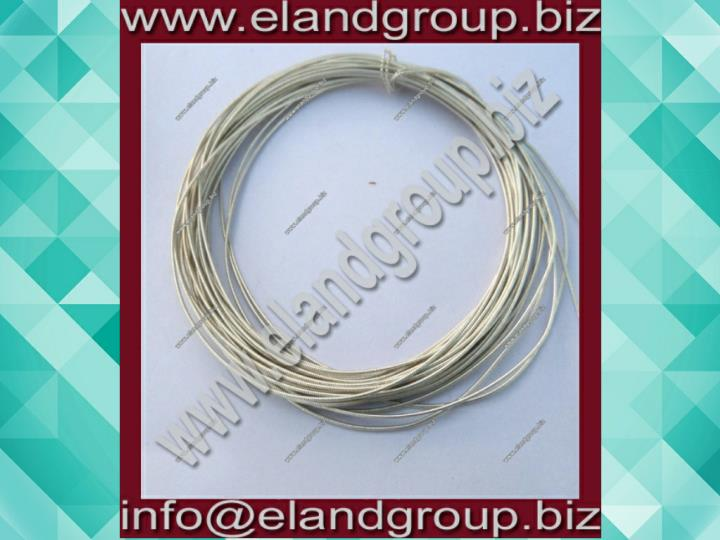 Silver french coil pearl purl