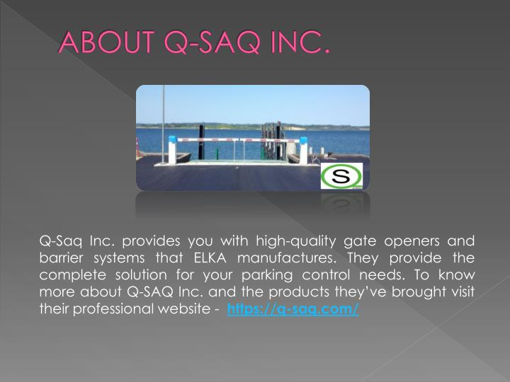 About q saq inc