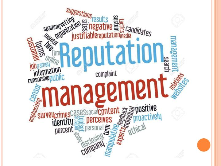 Online reputation management company guidance