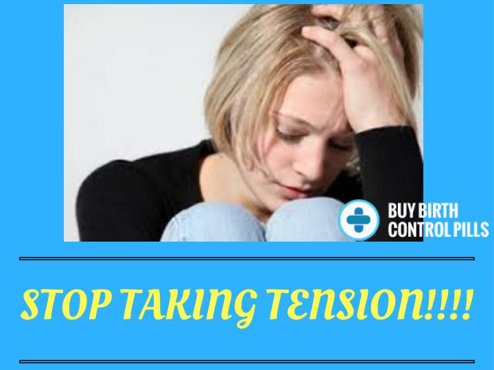STOP TAKING TENSION!!!!