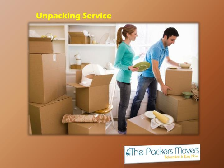 Unpacking Service