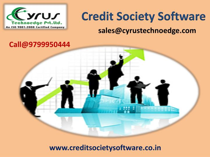 Credit Society Software