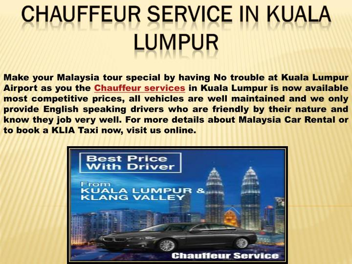 Make your Malaysia tour special by having No trouble at Kuala Lumpur