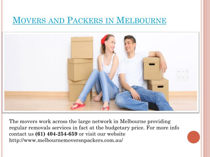 Movers and Packers in Melbourne