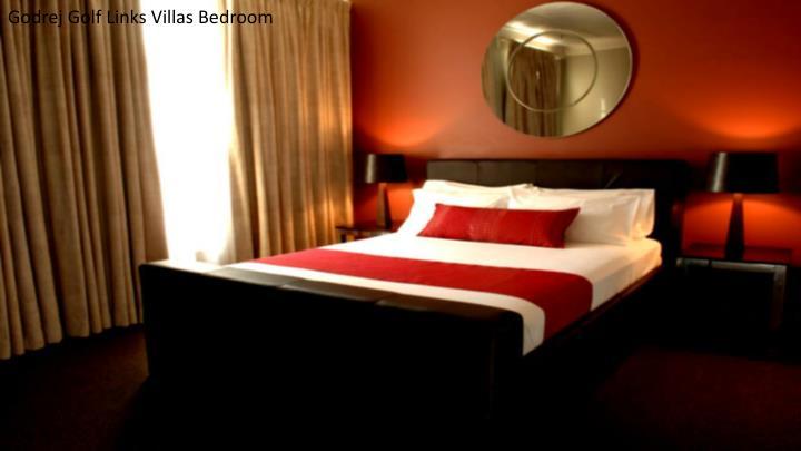 Godrej Golf Links Villas Bedroom