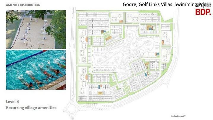 Godrej Golf Links Villas  Swimming Pool