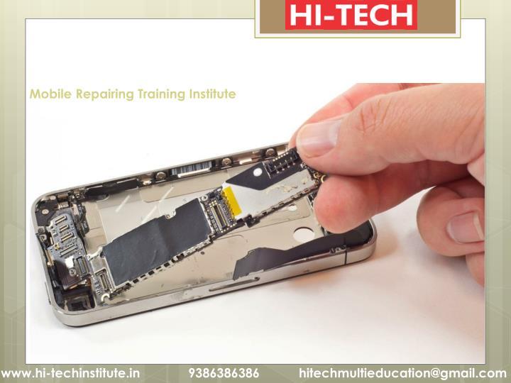 Mobile Repairing Training Institute