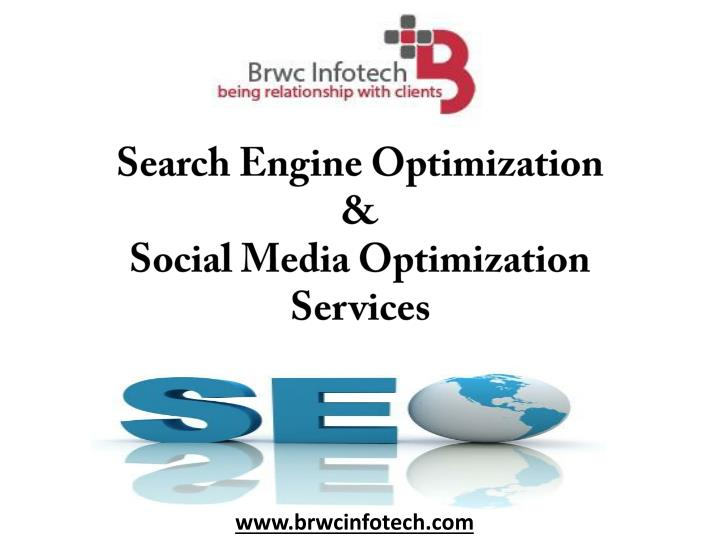 Search engine optimization social media optimization services