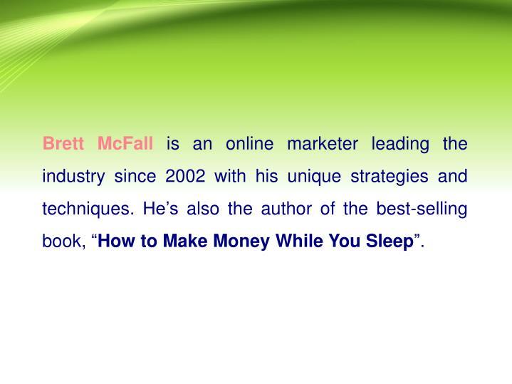 Brett McFall