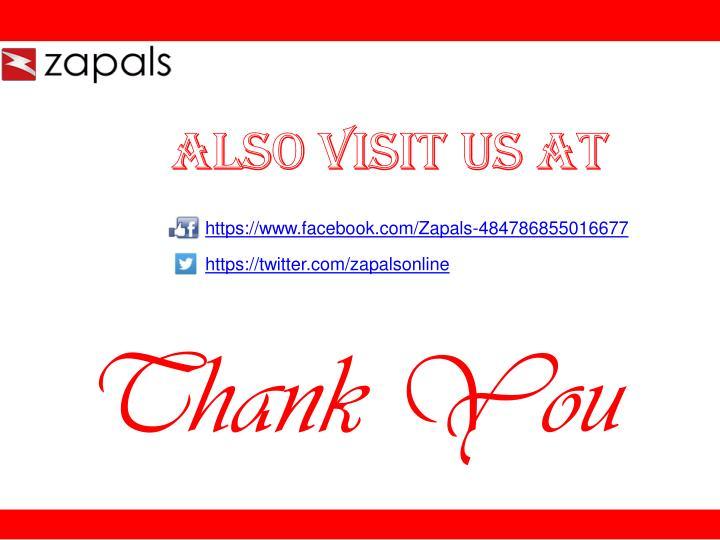 Also Visit us