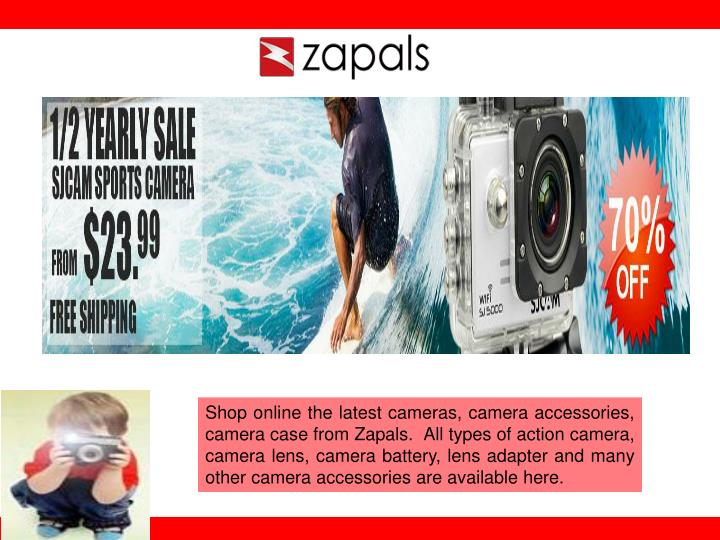 Shop online the latest cameras, camera accessories, camera case from