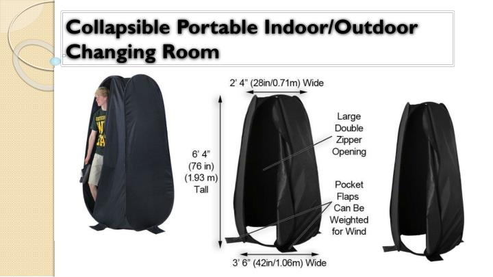 Collapsible Portable Indoor/Outdoor Changing Room