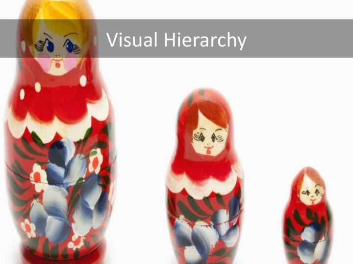 Visual Hierarchy
