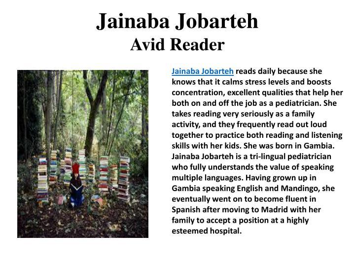 Jainaba Jobarteh