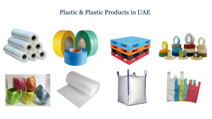 Plastic & Plastic Products in UAE