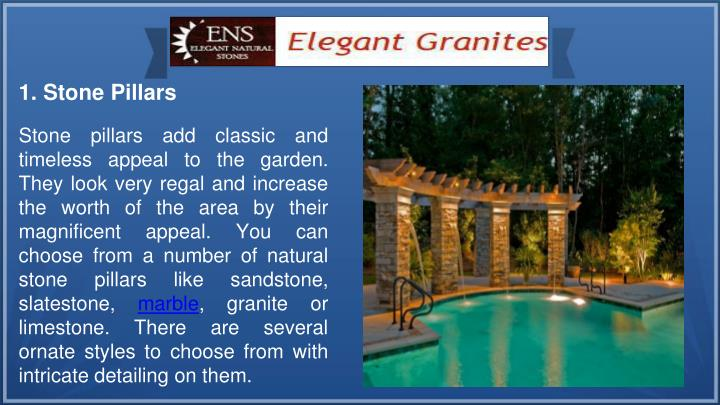 1. Stone Pillars