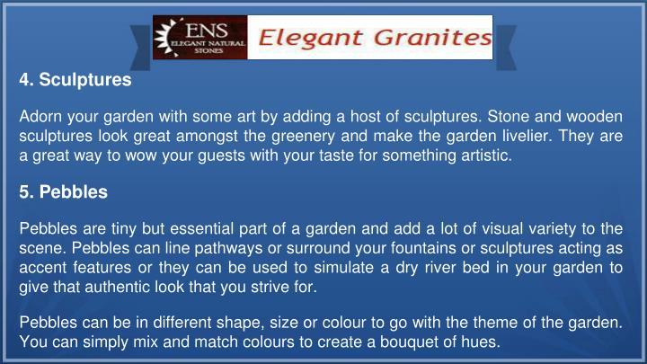 4. Sculptures