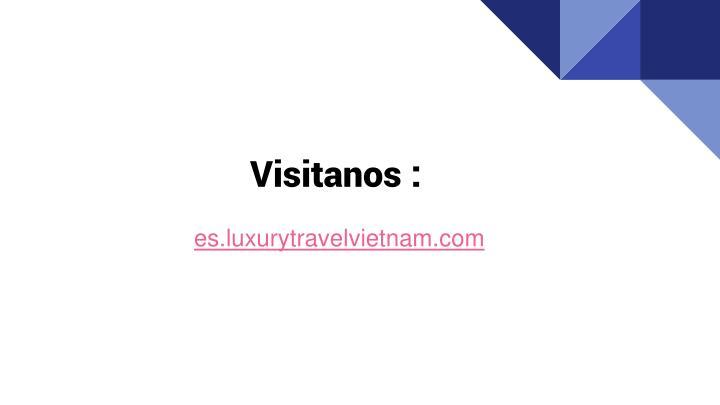 Visitanos :