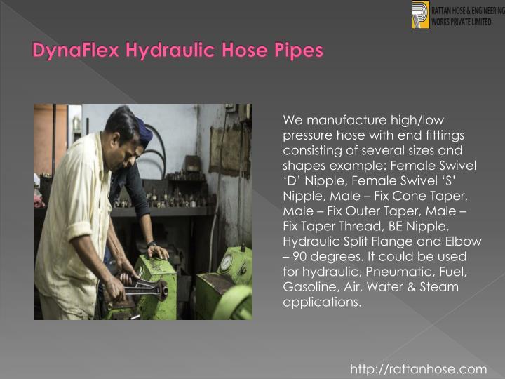 DynaFlex Hydraulic Hose Pipes