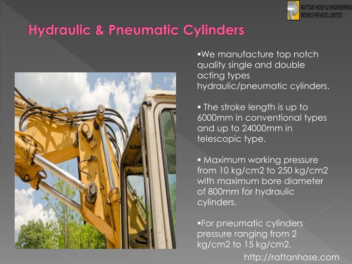 Hydraulic & Pneumatic Cylinders
