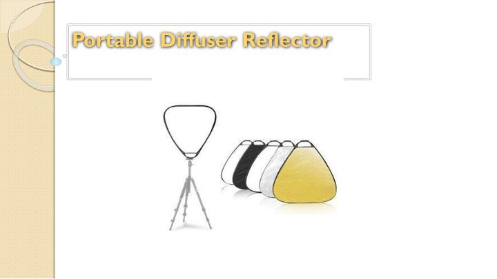 Portable Diffuser Reflector