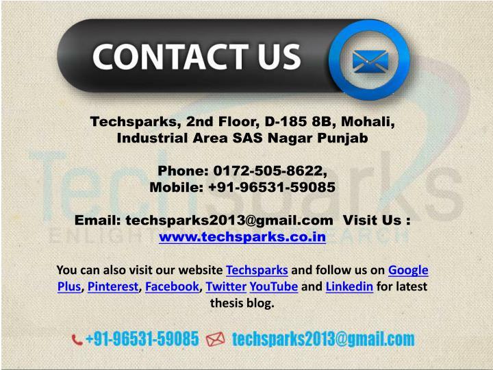 Techsparks, 2nd